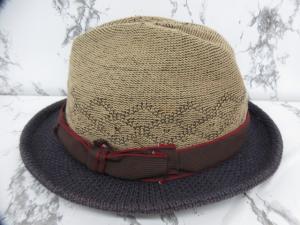 カシラ CA4LA 帽子 ハット バイカラー ベージュ 紫系 パープル系の買取実績