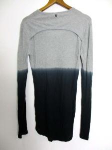 ニールバレット Neil Barrett Tシャツ カットソー グラデーション 薄手 長袖 グレー XS KT324の買取実績