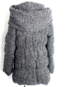 バーニーズニューヨーク BARNEY'S NEWYORK コート ジャケット ダウン 起毛 ミディアム ジップアップ グレー F /YM2の買取実績