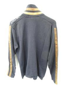 アヴィレックス AVIREX セーター ニット ジップアップ 無地 長袖 紺 茶色の買取実績