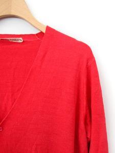 ビューティフルピープル beautiful people カーディガン ニット セーター 長袖 160 赤 /BG120の買取実績