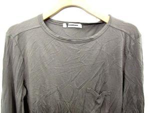 アレキサンダーワン ALEXANDER WANG カットソー Tシャツ 長袖 無地 XS グレー /FM748 メンズの買取実績