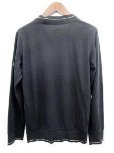 バル bal カーディガン ニット Vネック アンゴラ混 長袖 M 黒 /DT96 メンズの買取実績