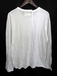 ヨウジヤマモト YOHJI YAMAMOTO Tシャツ カットソー 長袖 3 白 /DJ14 メンズの買取実績