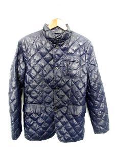 バーニーズニューヨーク BARNEYS NEW YORK ジャケット ダウン キルティング 46 青 /KK773 メンズの買取実績