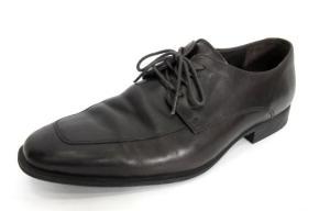 コールハーン COLE HAAN ビジネスシューズ 靴 レザー Uチップ 7.5 茶の買取実績