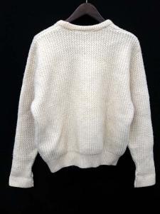 バブアー Barbour セーター ニット クルーネック 長袖 46 白 /DB5の買取実績