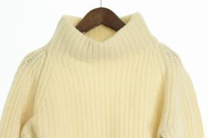 ジャーナルスタンダード JOURNAL STANDARD セーター ニット ハイネック ウール 白 メンズの買取実績