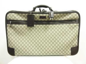 グッチ GUCCI オールドグッチ トランクケース バッグ シェリーライン GG柄 トラベル 旅行鞄 ユニセックス