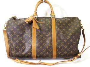 ルイヴィトン LOUIS VUITTON ボストン バッグ 旅行かばん モノグラム キーポル バンドリエール 50 M41416 メンズ レディース