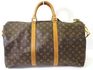 ルイヴィトン LOUIS VUITTON ボストン バッグ 旅行かばん モノグラム キーポル バンドリエール 50 M41416 メンズ レディースの買取実績