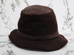 カシラ CA4LA 帽子 ハット 麻混 レザー切替 ブラウン系の買取実績