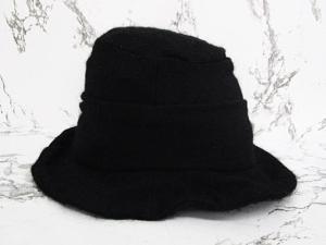 カシラ CA4LA 帽子 ハット ウール モヘア混 バッヂ付 黒 ブラックの買取実績