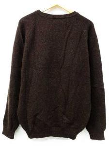 パーリーゲイツ PEARLY GATES セーター ニット 長袖 丸首 ロゴ うさぎ ウール 茶 4 秋冬 メンズの買取実績