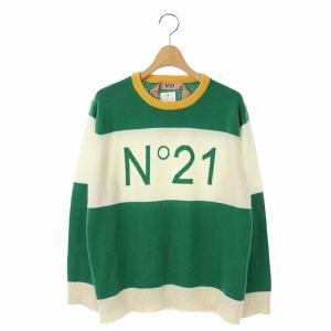 ヌメロヴェントゥーノ N°21 ニット セーター ロゴ プルオーバー ウールの買取実績
