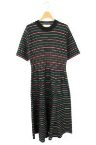 アキラナカ AKIRA NAKA Vivica knit dress ロングワンピース ブラックの買取実績