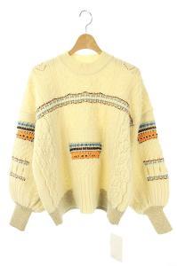 マメクロゴウチ  Mame Kurogouchi 20AW Oversized Chunky Knit Pullover ニット セーターの買取実績