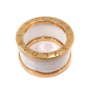 ブルガリ BVLGARI B-zero1 リング 指輪 K18 Au750 51 11号 の買取実績