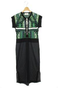 マメクロゴウチ  Mame Kurogouchi 総柄 LACE UP KNIT DRESS ドレス ワンピースの買取実績