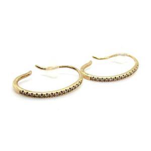 ヒロタカ Hirotaka Gossamer Diamond Earrings ピアス K10 ダイヤモンド 0.07ctの買取実績