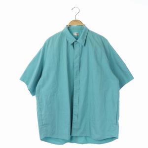 ブラミンク BLAMINK チュニックシャツ 38 ブルーの買取実績