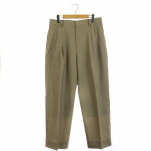 オーラリー AURALEE WASHABLE WOOL TROPICAL SLACKS パンツ スラックスの買取実績