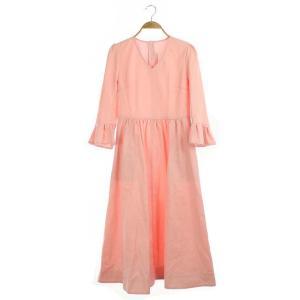 ボーダーズアットバルコニー BORDERS at BALCONY 21SS COLOR DRESS 36 ピンクの買取実績