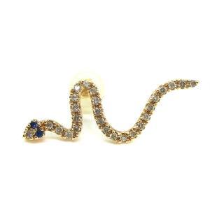 ヒロタカ Hirotaka Sapphire Eye Snake Earring スネークピアス ダイヤモンドの買取実績