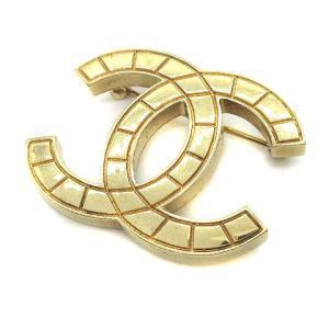 シャネル CHANEL ヴィンテージ ピンブローチ ココマーク 真鍮 ゴールドの買取実績