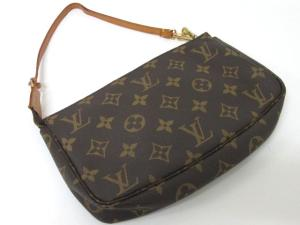 check out 374e2 fab96 高価買取中】ルイヴィトン LOUIS VUITTON モノグラム ポシェット ...