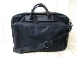 a4969d0e6c97 コーチ COACH ビジネスバッグ リュック バックパック 3WAY 70635 クロスビー コンバーチブル メンズ 黒 ブラック 鞄 メンズ  <フクウロ 買取>