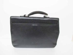 fea881d794f4 ブルガリ BVLGARI レザー ブリーフケース ビジネスバッグ 黒ブラック ブランド古着ベクトル フクウロ○161005 0030B メンズ <フクウロ  買取>