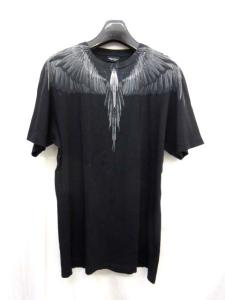 フェザープリント 半袖Tシャツ