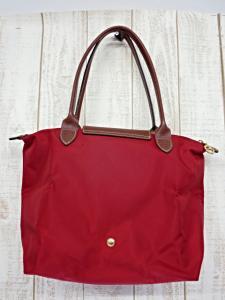 53f6c7a714be ロンシャン LONGCHAMP ル・プリアージュ トートバッグ かばん 鞄 赤 レッド 折り畳み レディース <フクウロ 買取>