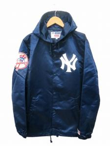 ×New York Yankees×47 Brand 15SS Satin Hooded Coaches Jacket