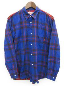 COMME des GARCONS SHIRT × Supreme チェックシャツ
