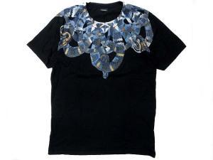 スネークプリント 半袖Tシャツ